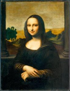 Gioconda de Suiza atribuida a Leonardo Da Vinci